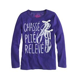 Girls' pointe shoes tee AAAHHHH!  @Rochelle Weeks Weeks Nordby