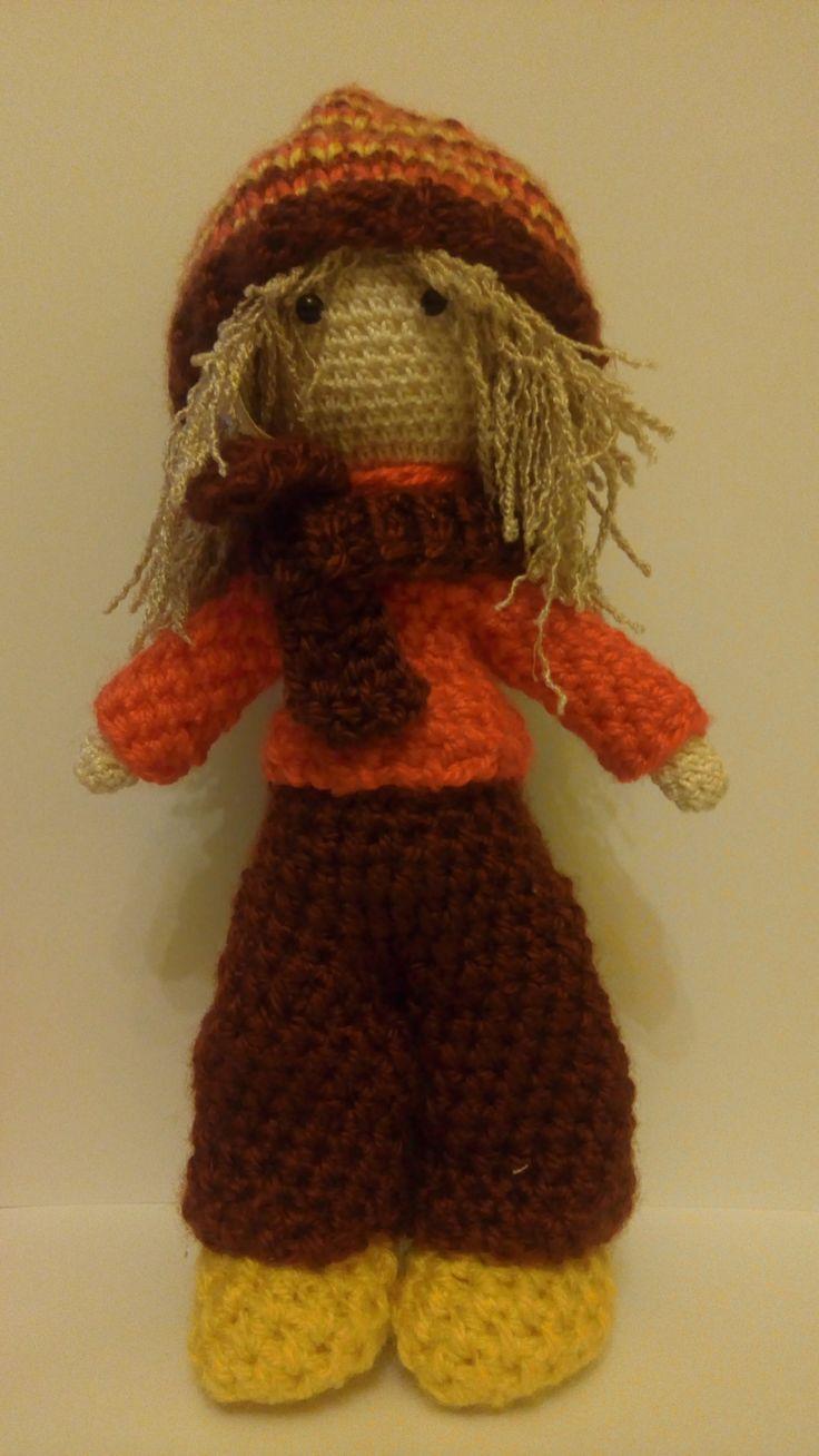 háčkovaná bábika_crochet doll