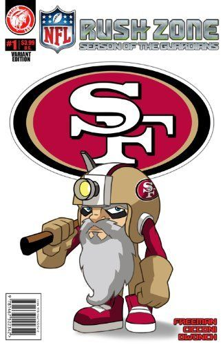 Nfl rush zone season of the guardians 1 san francisco 49ers cover