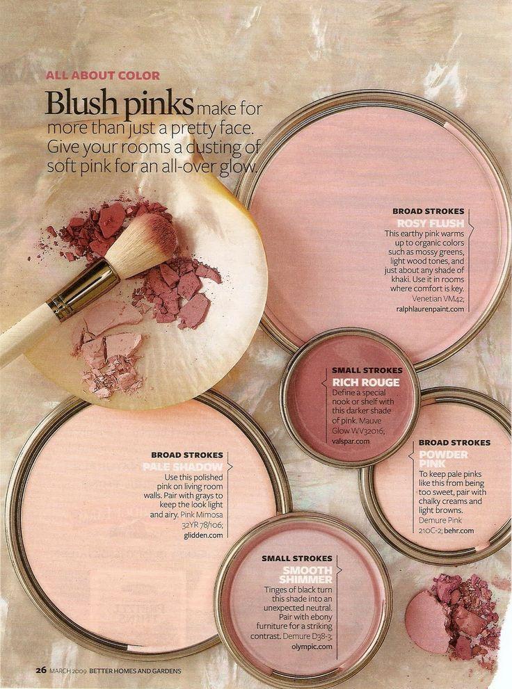 Blush Pink Color Palette Of Your Dreams Paint Colors For Home Interior Paint Colors Schemes Interior Paint Colors