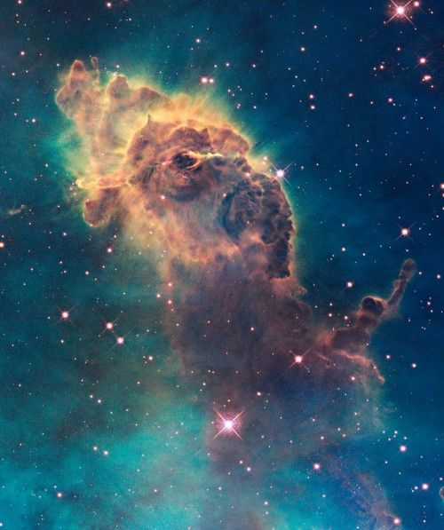 Image taken with the Hubble Space Telescope