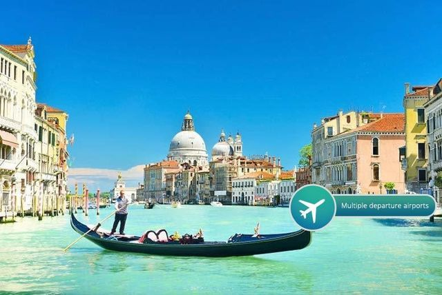 2-3nt 4* Venice Break, Flights & Gondola Option