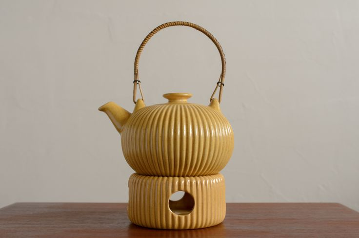 Michael Andersen & son teapot and warmer