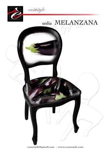 ecco la quarta sedia della serie ispirata ai sapori della cucina Italiana e creata da Mauro Manco per  CASTèSTYLE . Arredamento ecosostenibile  per chi ama distinguersi anche in cucina