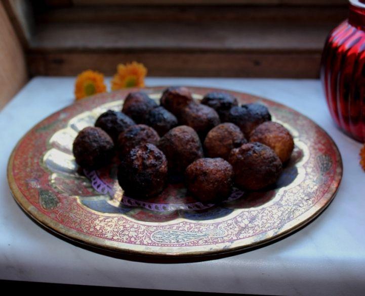 Рецепт традиционной индийской сладости Калар Бада от нашего нового кулинара Катерины Шелест
