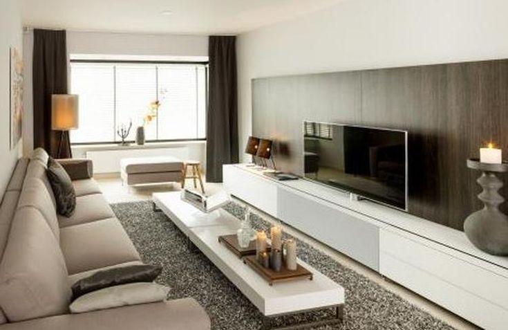 25 beste idee n over lange smalle kamers op pinterest smalle ruimtes lange woonkamers en - Foto van ouderlijke kamer ...