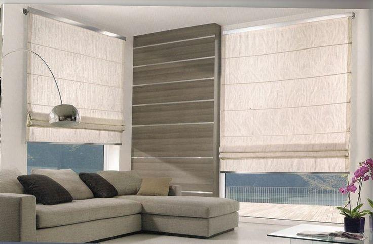 Oltre 20 migliori idee su appendere le tende su pinterest - Tende per finestra del bagno ...