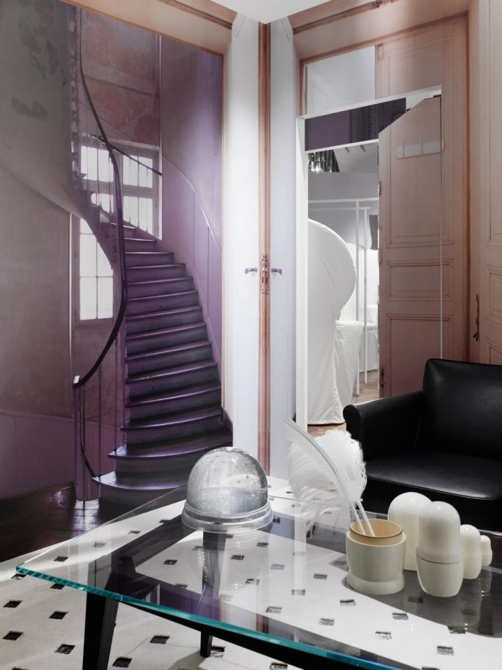 Maison martin margielas first concept to be installed for this one year project renewed approximately each month is home featuring maison martin