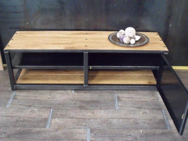 25+ best ideas about meuble tv bois on pinterest | console tv ... - Meuble Metal Design