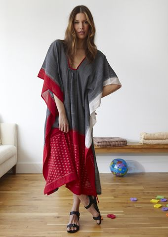 especially in the summer! ~katFashion, Monica Ikat, Caftans Dresses Pattern, Dinner Parties, Saris Caftans, New York, Brooklyn Design, Bohemian Style, Kaftans Style Sewing Pattern