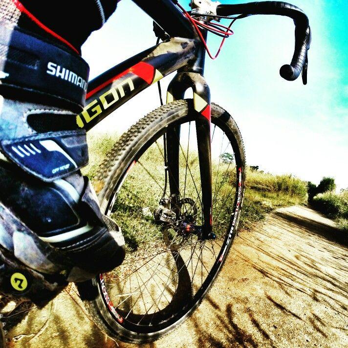 Morning Ride #bendcx #onpolygonbikes #cyclocross