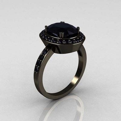 """Black Diamond Ring"""