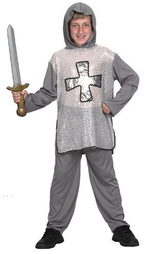 nice       £6.70  Shirt with Hood, TrousersChilds Knight Fancy Dress Costume.Costume comprises of shirt with hood and trousers.Become a gallant k...  Check more at http://fisheyepix.co.uk/shop/boys-knight-childrens-fancy-dress-costume-age-7-9/