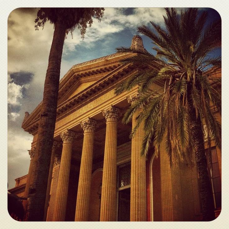 Teatro Massimo (Palermo-Italy)