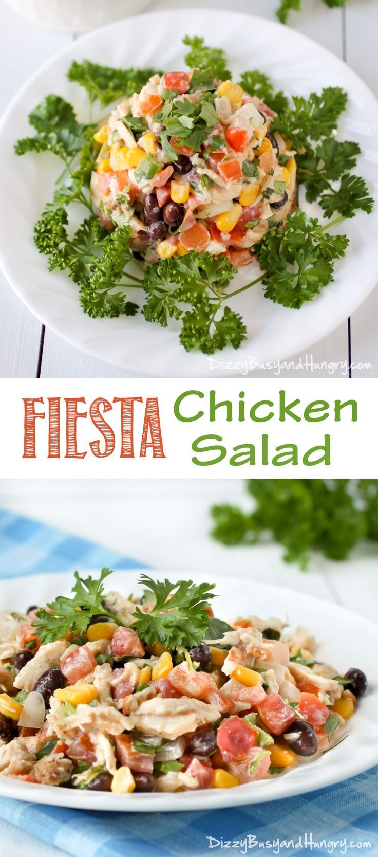 3273 best party food images on pinterest cooking recipes fiesta chicken salad forumfinder Gallery
