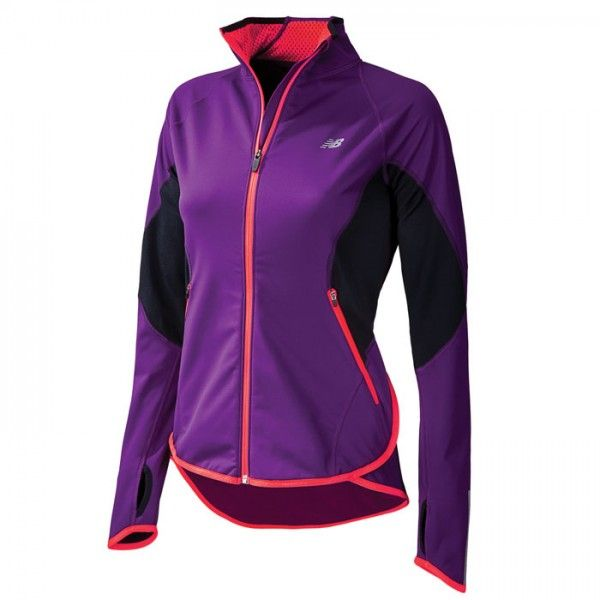 New Balance's Windblocker Jacket protects  against the elements so you can be strong (and stylish) on your run. ($130)