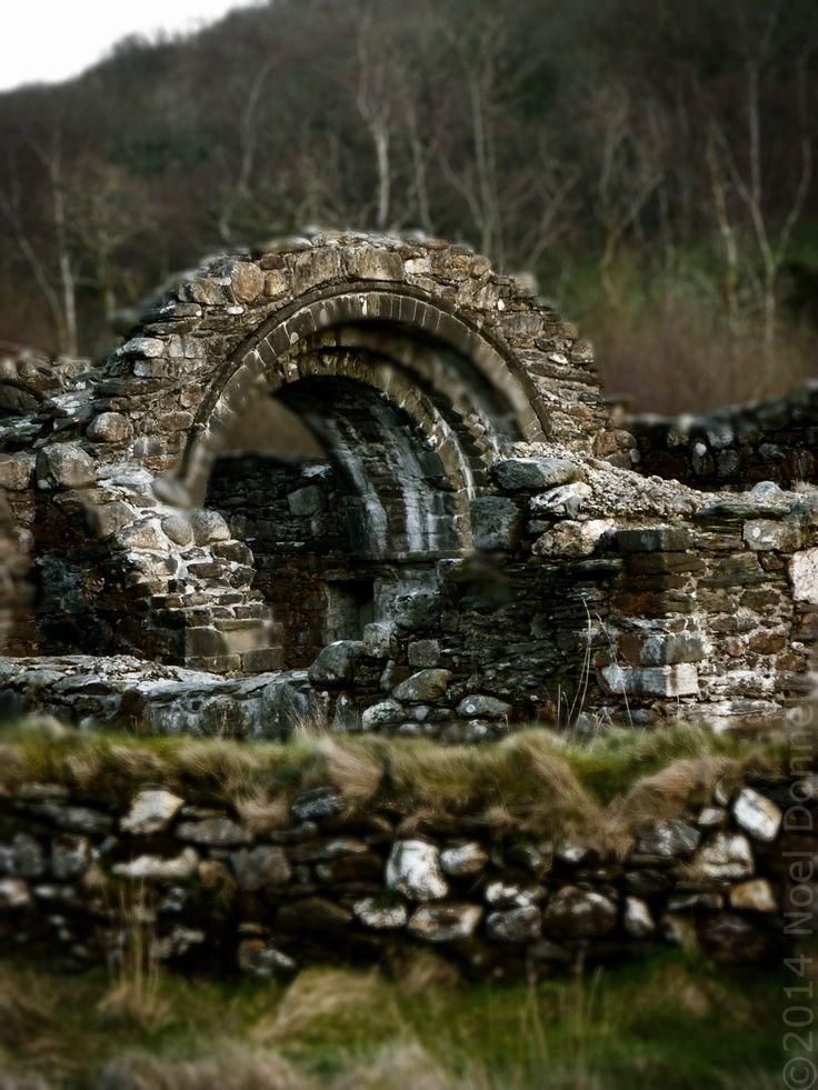 St Saviour's Priory, Romanesque Church, (1150s) Glendalough, Wicklow, Ireland