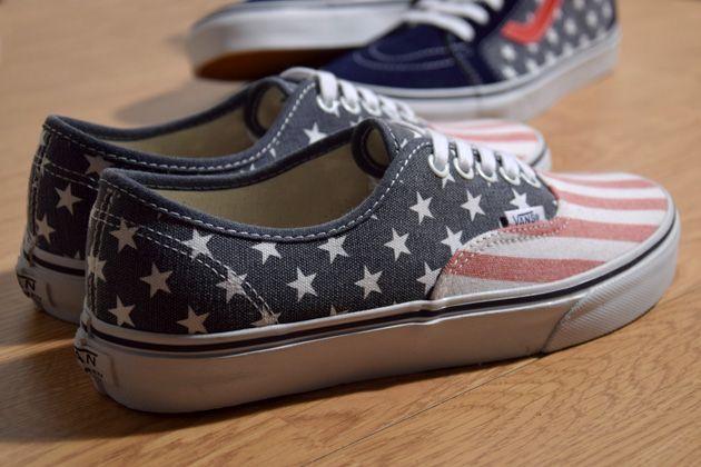 #Vans Van Doren Stars & Stripes #sneakers