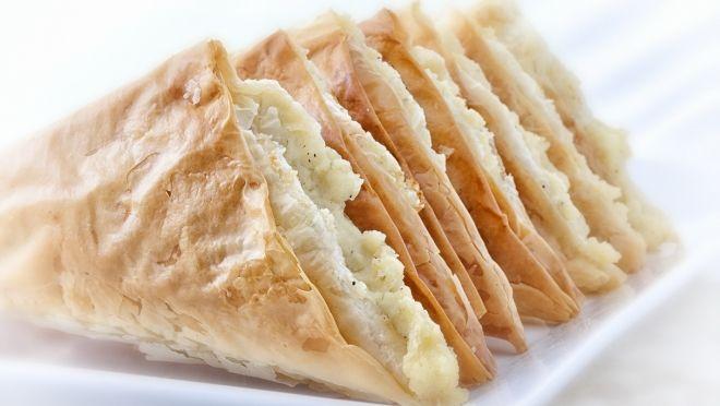 Tiropita - Greek cheese pies.