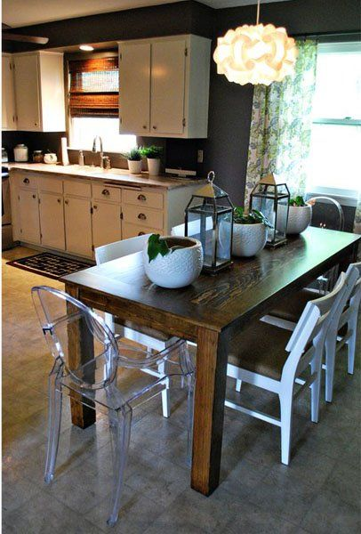 Homemade Dining Room Table Alluring Design Inspiration