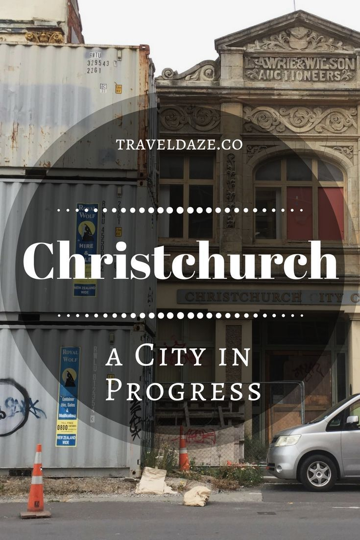 After the 2011 Christchurch earthquake, the city was destroyed. Six years later, Christchurch is still is shambles, but the city is finally starting to come back to life.