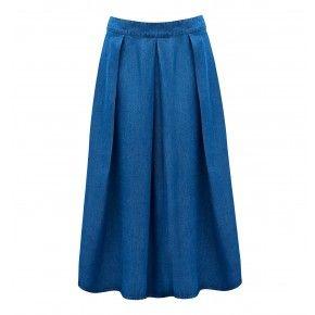 Penny Midi Pleated Skirt