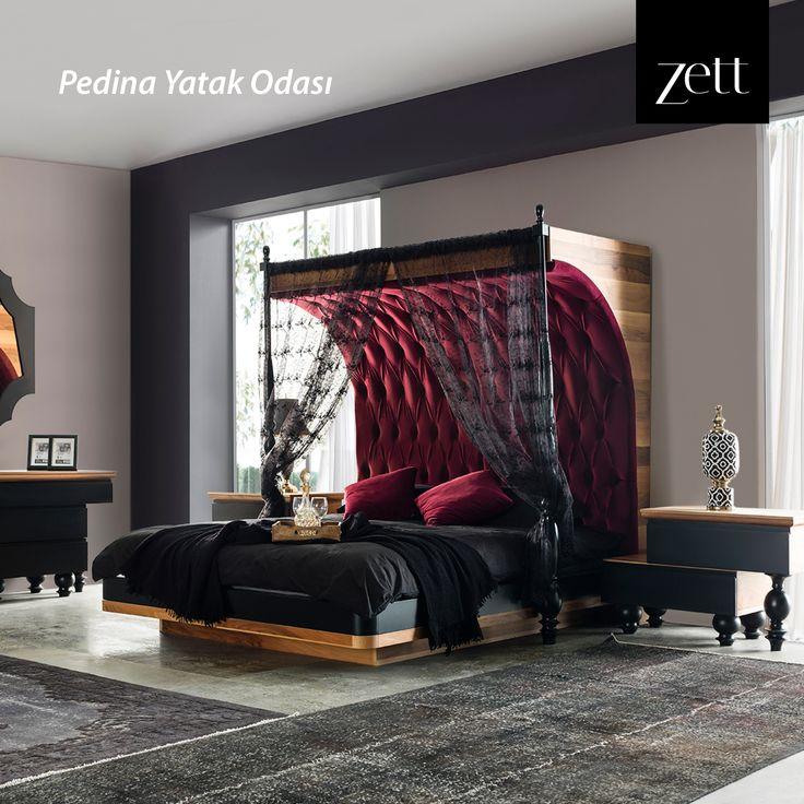 Bizim için tasarımlarımız, sizin için de konforunuz önemli... Hem tasarım hem konforu bir arada sunan; Pedina Yatak Odası!