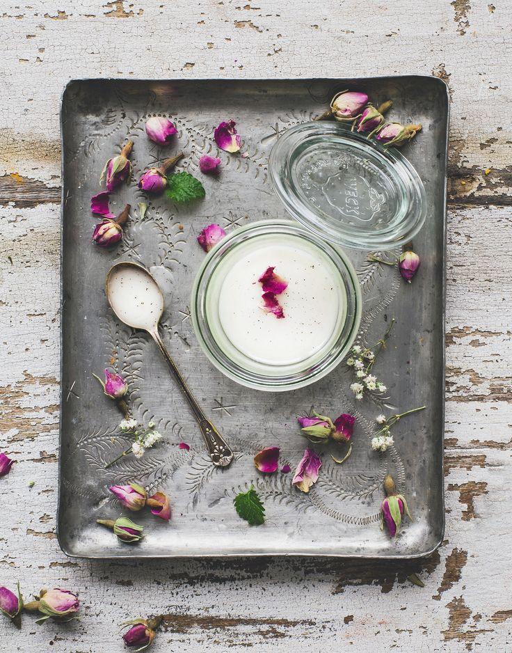 Face scrub with powdered sugar & vanilla / Gör din egen ansiktsskrubb med florsocker och vanilj - Evelinas Ekologiska