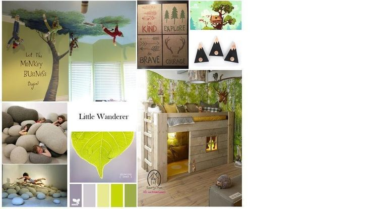 Roomstyler.com - Childroom moodboard