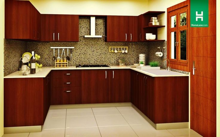 Robin New-Age U-Shaped Kitchen | Don't let a lack of space keep you away from your dream kitchen. Check out our collection for more.
