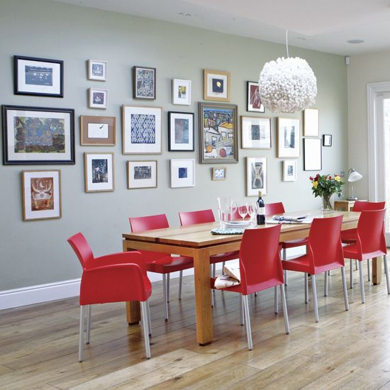beautiful photo gallery wall displays