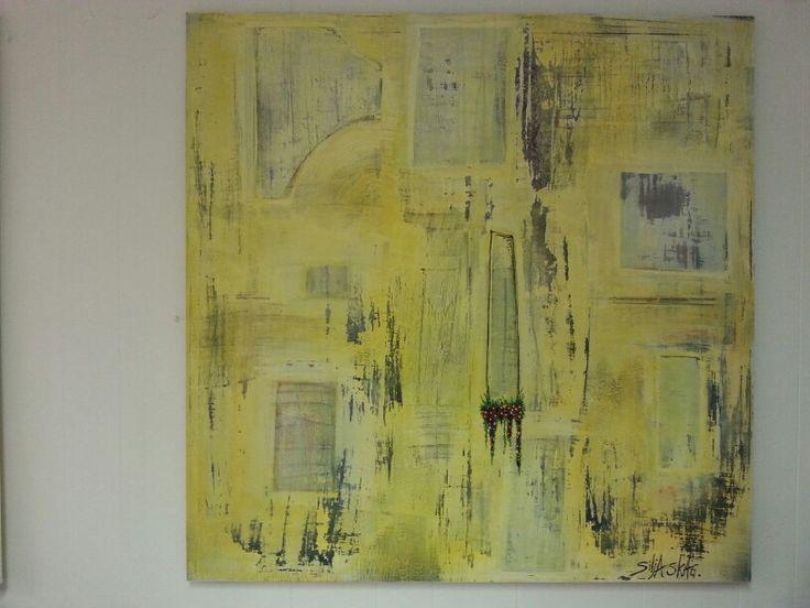 Yellow art  Artist Silja Skag