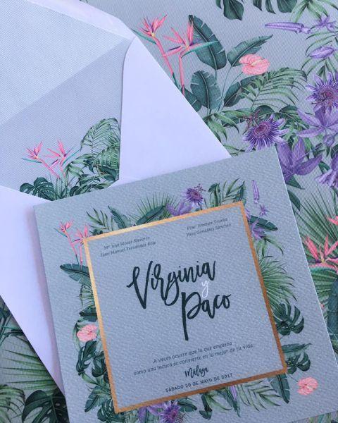 37 tipos de invitaciones de boda. ¡Toma nota e invita con estilo! Image: 21