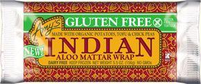 Gluten Free Indian Aloo Mattar Wrap