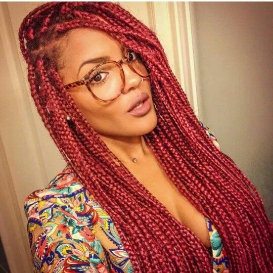 15 Women With Braid Extensions Styles Who Are Not Afraid Of A Little Vibrant…