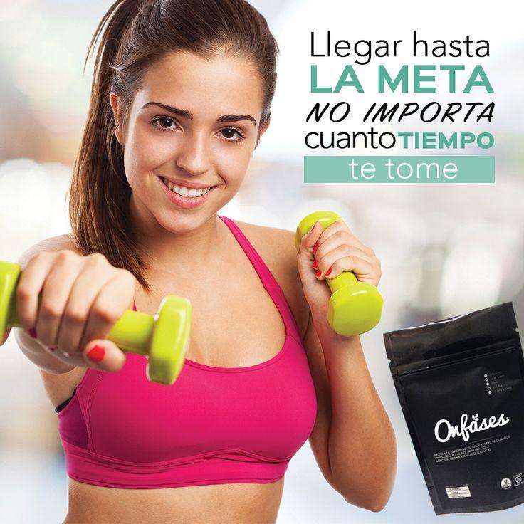 Llegar a la meta no importa cuanto tiempo te tome con #onfases baja de peso el doble ENVÍOS A TODO MÉXICO 📦✈ http://ow.ly/xIHt307tOSp