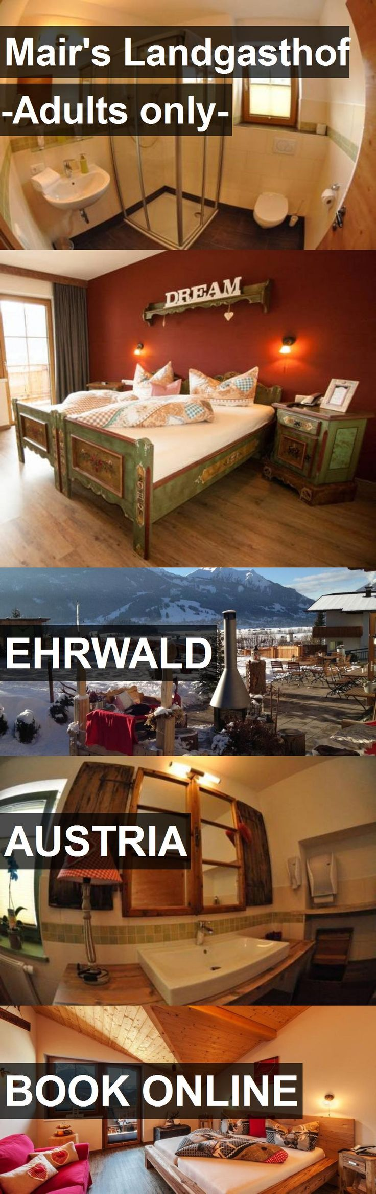Hotel Mair's Landgasthof -Adults only- in Ehrwald, Austria. For more information, photos, reviews and best prices please follow the link. #Austria #Ehrwald #Mair'sLandgasthof-Adultsonly- #hotel #travel #vacation