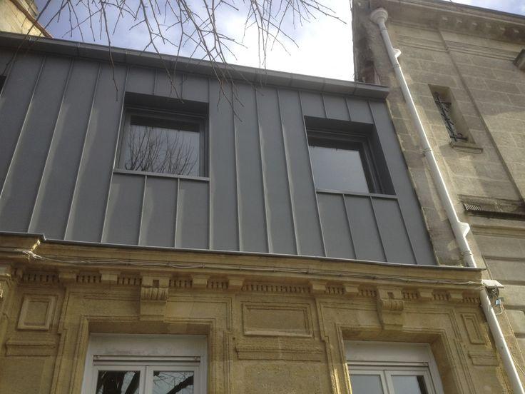 les 25 meilleures id es de la cat gorie toit zinc sur pinterest r nover toiture zinc roit de. Black Bedroom Furniture Sets. Home Design Ideas
