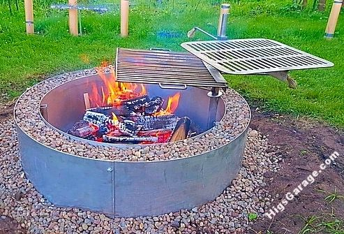 Double Wall Stainless Steel Fire Pit With Cooking Grates Outside is cool to  the touch. - 200+ Best Higley Firepits Images By Higley Metals On Pinterest