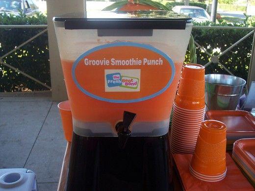 fresh beat band groovie smoothie punch