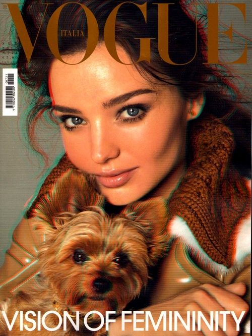 vogue cover, looks like my dog!