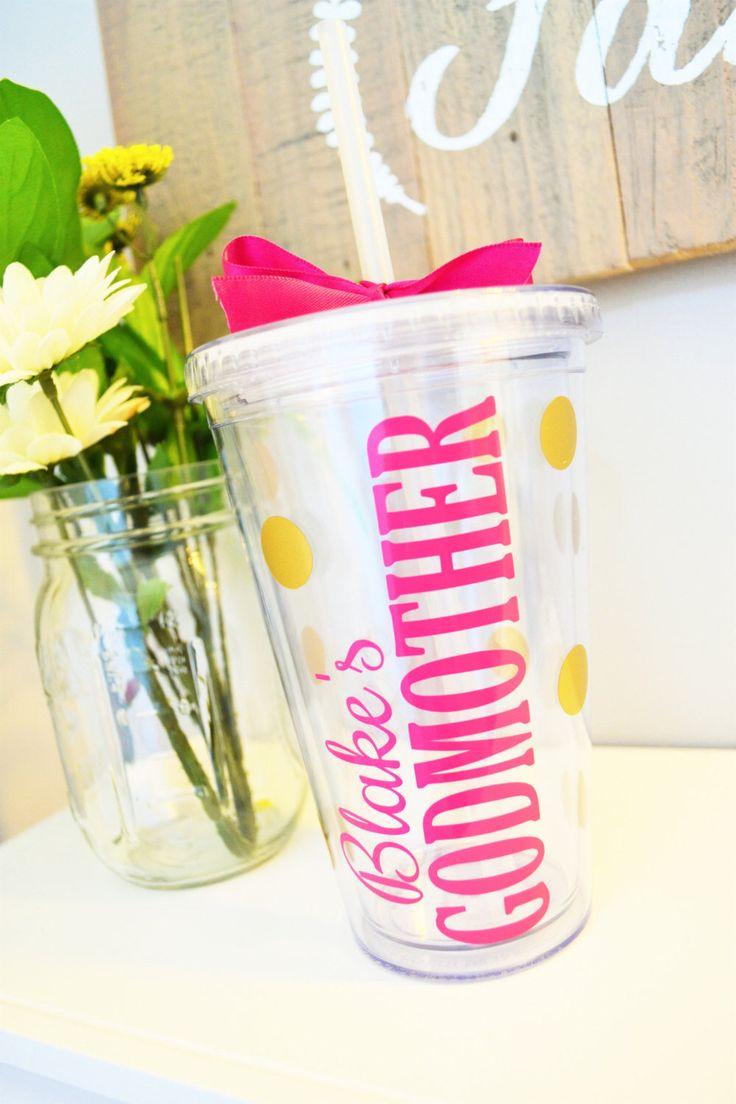 Godmother quotes funny quotesgram - Godmother Tumbler Gift For Godmother Godmother Gift Christening Gift Ideas