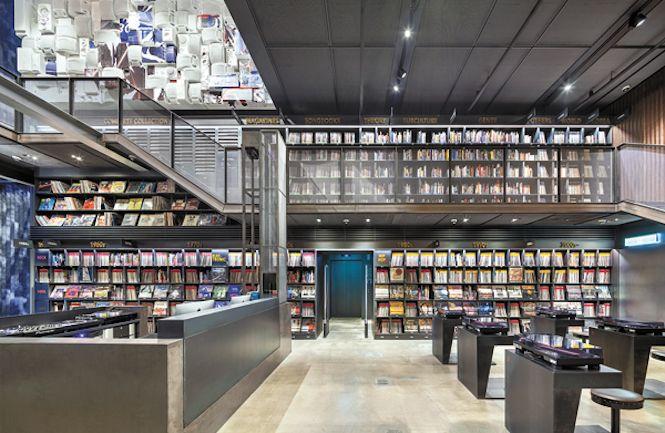La nuova biblioteca sudcoreana con 10.000 vinili (e molto altro) - news