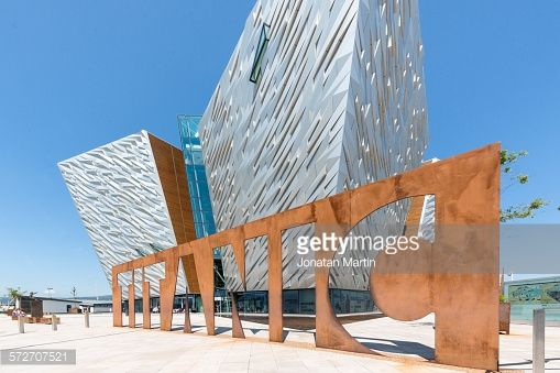 Titanic Museum.Belfast, Northern Ireland, UK.