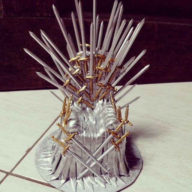 Artesanatos da Dessa : Trono de Ferro- Game of Thrones