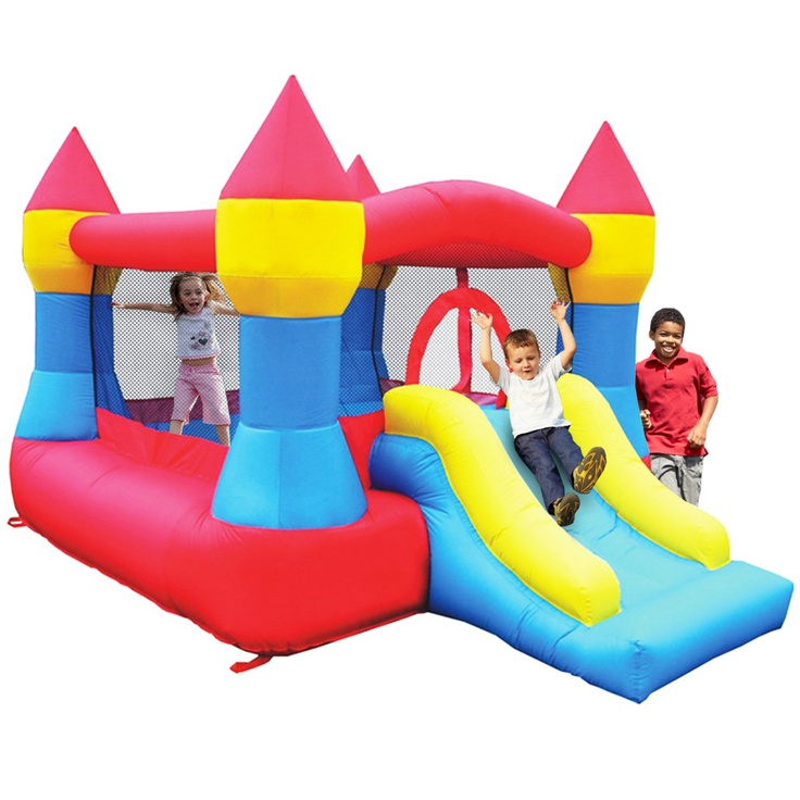 Castle Bounce and Slide - Inflatable Bounce House