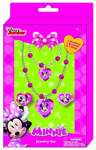 Disney Frozen Jewelry Box for girls - Jewelry Set Includes 1 Beaded Necklace, 1 Beaded Bracelet and 2 Adjustable Rings