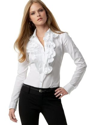 Blusa blanca on 1001 Consejos http://www.1001consejos.com/social-gallery/blusa-blanca