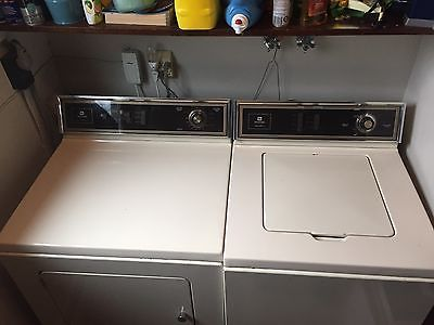 Older MAYTAG WASHER & ELECTRIC DRYER FOR SALE AS IS , Local Pickup Only !