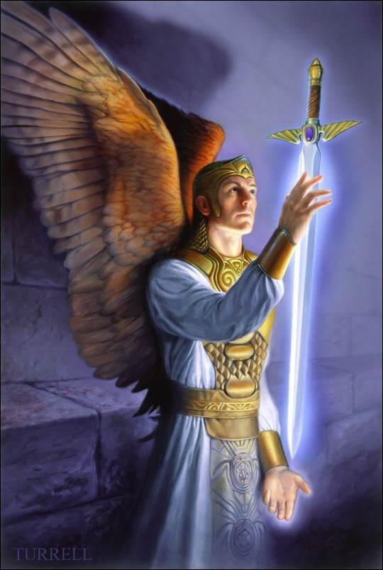 Гифки ангелов и архангелов дженна